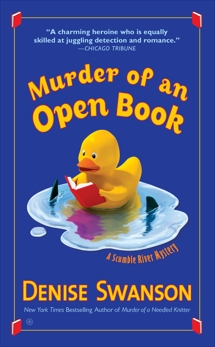 Murder of An Open Book, Swanson, Denise
