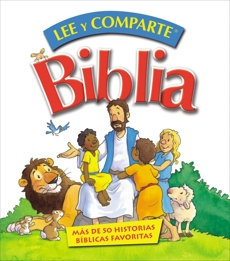 Biblia Lee y comparte: para manos pequeñas, Ellis, Gwen