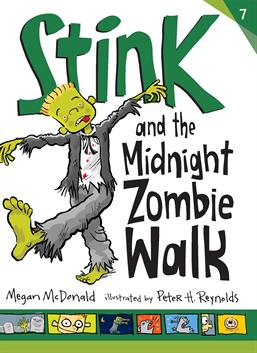 Stink and the Midnight Zombie Walk, McDonald, Megan