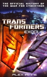 Transformers: Exodus: The Official History of the War for Cybertron, Irvine, Alex