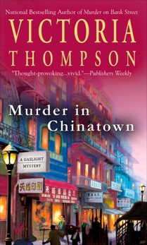 Murder In Chinatown, Thompson, Victoria