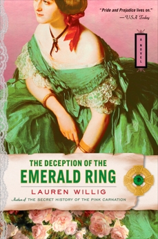 The Deception of the Emerald Ring, Willig, Lauren