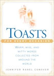 Toasts for Every Occasion, Conover, Jennifer Rahel
