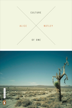Culture of One, Notley, Alice
