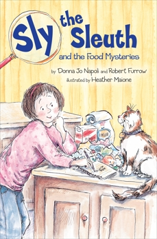 Sly the Sleuth and the Food Mysteries, Napoli, Donna Jo