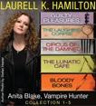 Anita Blake, Vampire Hunter Collection 1-5, Hamilton, Laurell K.