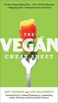 The Vegan Cheat Sheet: Your Take-Everywhere Guide to Plant-based Eating, Cramer, Amy & McComsey, Lisa