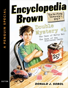Encyclopedia Brown Double Mystery #1: Featured mysteries from Encyclopedia Brown, Boy Detective, Sobol, Donald J.