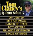 Clancy's Op-Center Novels 1-6, Clancy, Tom