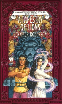A Tapestry of Lions, Roberson, Jennifer