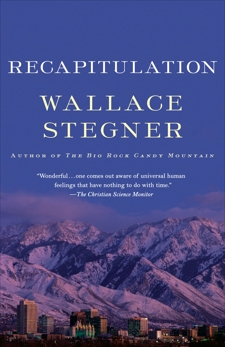 Recapitulation, Stegner, Wallace