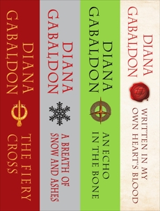 The Outlander Series Bundle: Books 5, 6, 7, and 8: The Fiery Cross, A Breath of Snow and Ashes, An Echo in the Bone, Written in My Own Heart's Blood, Gabaldon, Diana