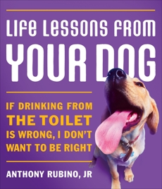Life Lessons From Your Dog: If drinking from the toilet is wrong, I don't want to be right., Rubino, Anthony