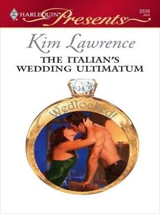The Italian's Wedding Ultimatum, Lawrence, Kim