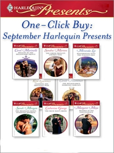 One-Click Buy: September Harlequin Presents: An Anthology, Lawrence, Kim & Mortimer, Carole & Lee, Miranda & George, Catherine & Marton, Sandra & Marinelli, Carol & Morgan, Sarah & Mayo, Margaret