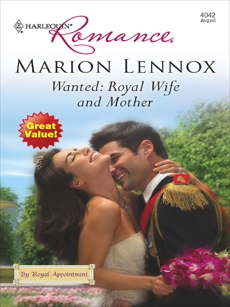 Wanted: Royal Wife and Mother, Lennox, Marion