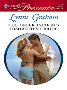 The Greek Tycoon's Disobedient Bride, Graham, Lynne