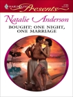 Bought: One Night, One Marriage, Anderson, Natalie