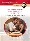 His Bid for a Bride, Mortimer, Carole