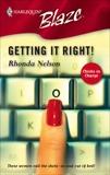 Getting It Right!, Nelson, Rhonda