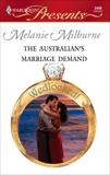The Australian's Marriage Demand, Milburne, Melanie