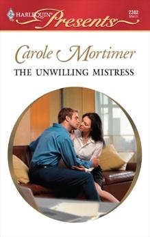 The Unwilling Mistress, Mortimer, Carole
