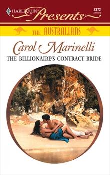 The Billionaire's Contract Bride, Marinelli, Carol