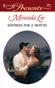 Mistress For A Month, Lee, Miranda
