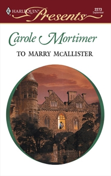 To Marry McAllister, Mortimer, Carole