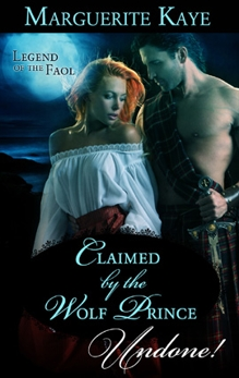 Claimed by the Wolf Prince, Kaye, Marguerite