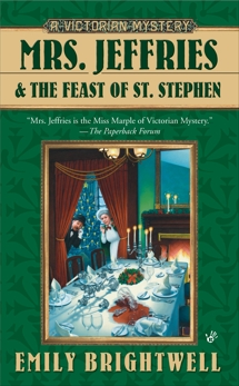 Mrs. Jeffries and the Feast of St. Stephen, Brightwell, Emily
