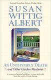AN Unthymely Death, Albert, Susan Wittig