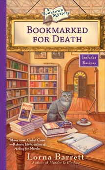 Bookmarked For Death, Barrett, Lorna
