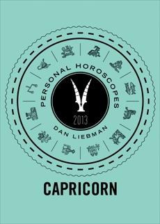 Capricorn: Personal Horoscopes 2013, Liebman, Dan