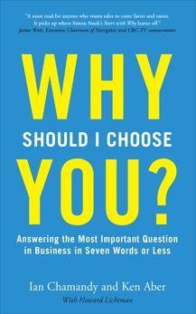 Why Should I Choose You (in Seven Words Or Less)?