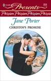 Christos's Promise, Porter, Jane
