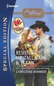 Resisting Mr. Tall, Dark & Texan, Rimmer, Christine