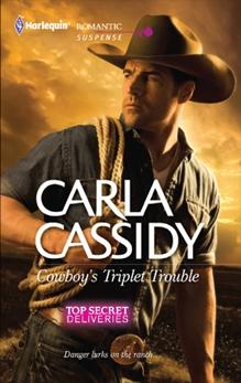 Cowboy's Triplet Trouble: A Western Romantic Suspense Novel