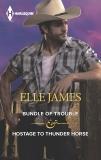 Bundle of Trouble & Hostage to Thunder Horse: An Anthology, James, Elle