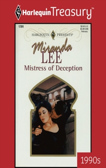 MISTRESS OF DECEPTION, Lee, Miranda