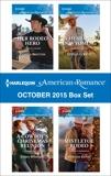 Harlequin American Romance October 2015 Box Set: An Anthology, Kent, Lynnette & Summers, Sasha & Renee, Amanda & Britton, Pamela
