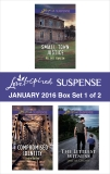 Love Inspired Suspense January 2016 - Box Set 1 of 2: An Anthology, Choate, Jane M. & Hansen, Valerie & Bailey, Jodie
