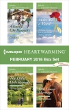 Harlequin Heartwarming February 2016 Box Set: An Anthology, Curtis, Melinda & Ross, Carol & Jones, Eleanor & Sasson, Sophia
