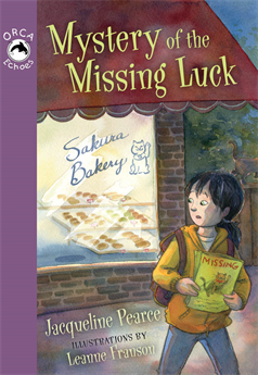 Mystery of the Missing Luck, Pearce, Jacqueline