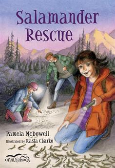 Salamander Rescue, McDowell, Pamela