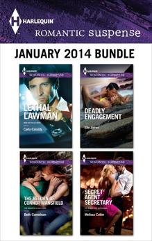 Harlequin Romantic Suspense January 2014 Bundle: An Anthology, Cassidy, Carla & Cornelison, Beth & Cutler, Melissa & James, Elle