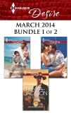 Harlequin Desire March 2014 - Bundle 1 of 2: An Anthology, Jackson, Brenda & Child, Maureen & Roe, Paula