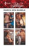 Harlequin Blaze March 2014 Bundle: An Anthology, Hunter, Samantha & Raye, Kimberly & Rawlins, Debbi & Sinclair, Kira