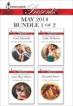 Harlequin Presents May 2014 - Bundle 1 of 2: An Anthology, Williams, Cathy & Marinelli, Carol & Power, Elizabeth & Raye Harris, Lynn