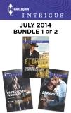 Harlequin Intrigue July 2014 - Bundle 1 of 2: An Anthology, Thurlo, Aimée & Daniels, B.J. & Sharpe, Alice